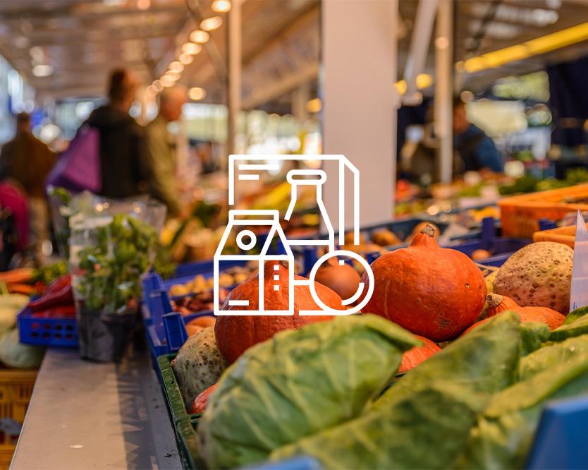 Landwirtschaft und Einzelhandel