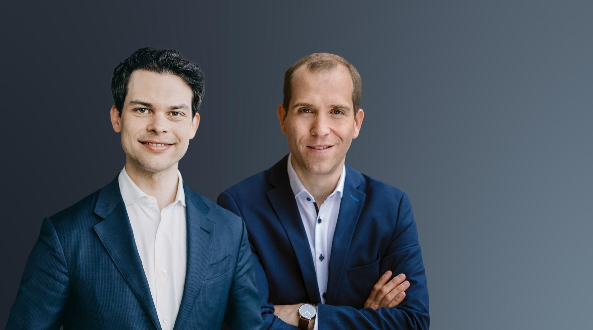 Christoph Ploß und Dennis Thering